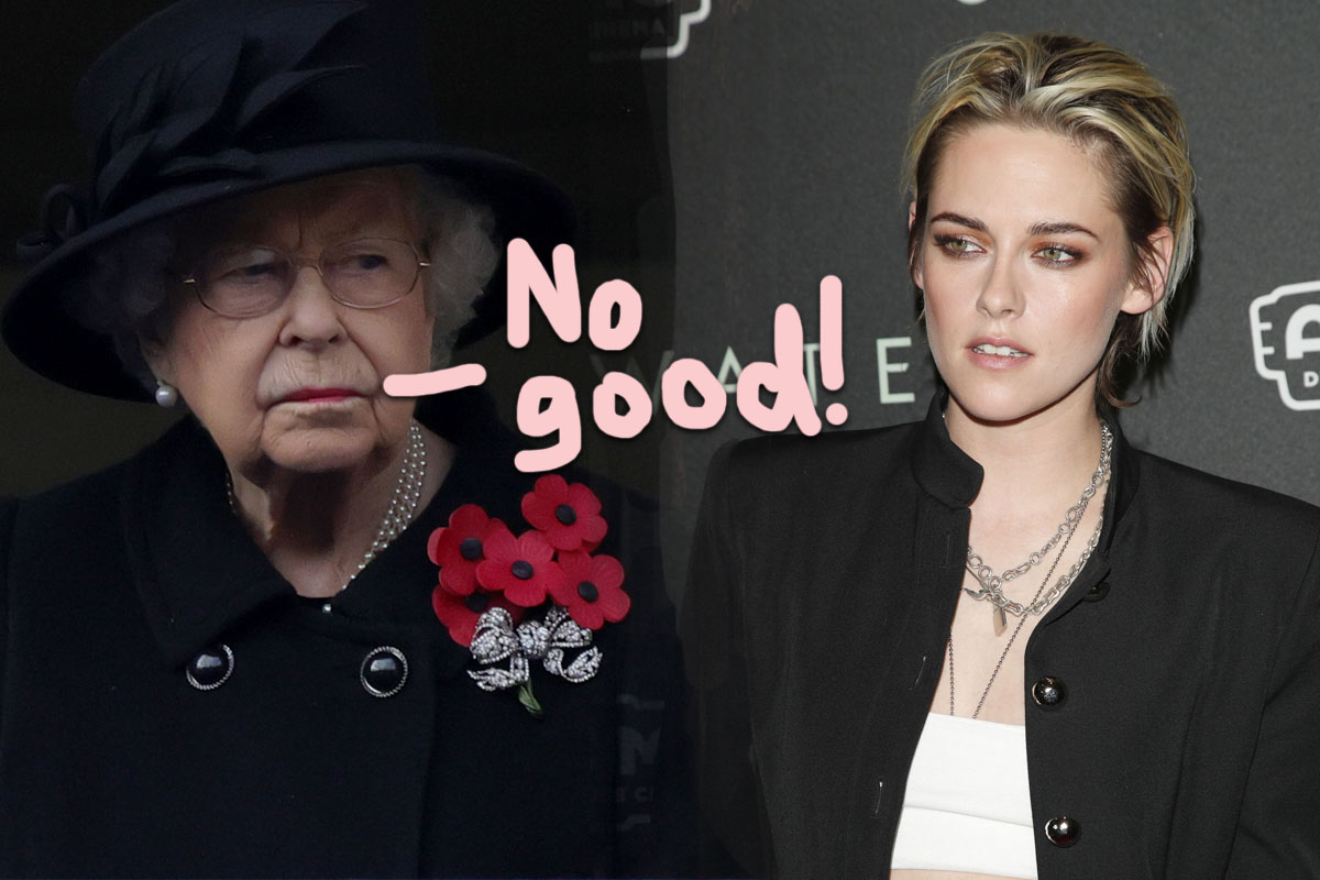Here's Why Kristen Stewart's Princess Diana Movie Will NOT Go Over Well With The Royal Fam!