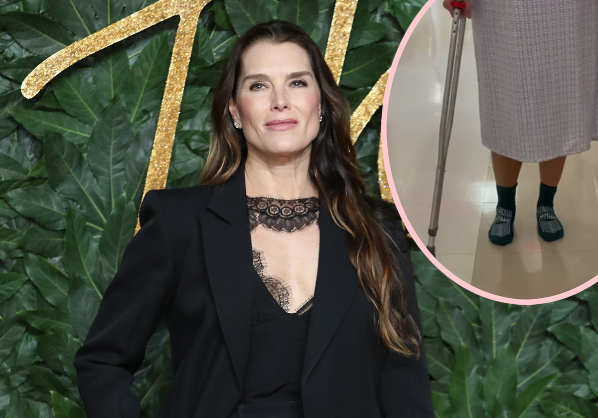 Brooke Shields Reveals She's On The 'Mend' After Breaking Her Femur!