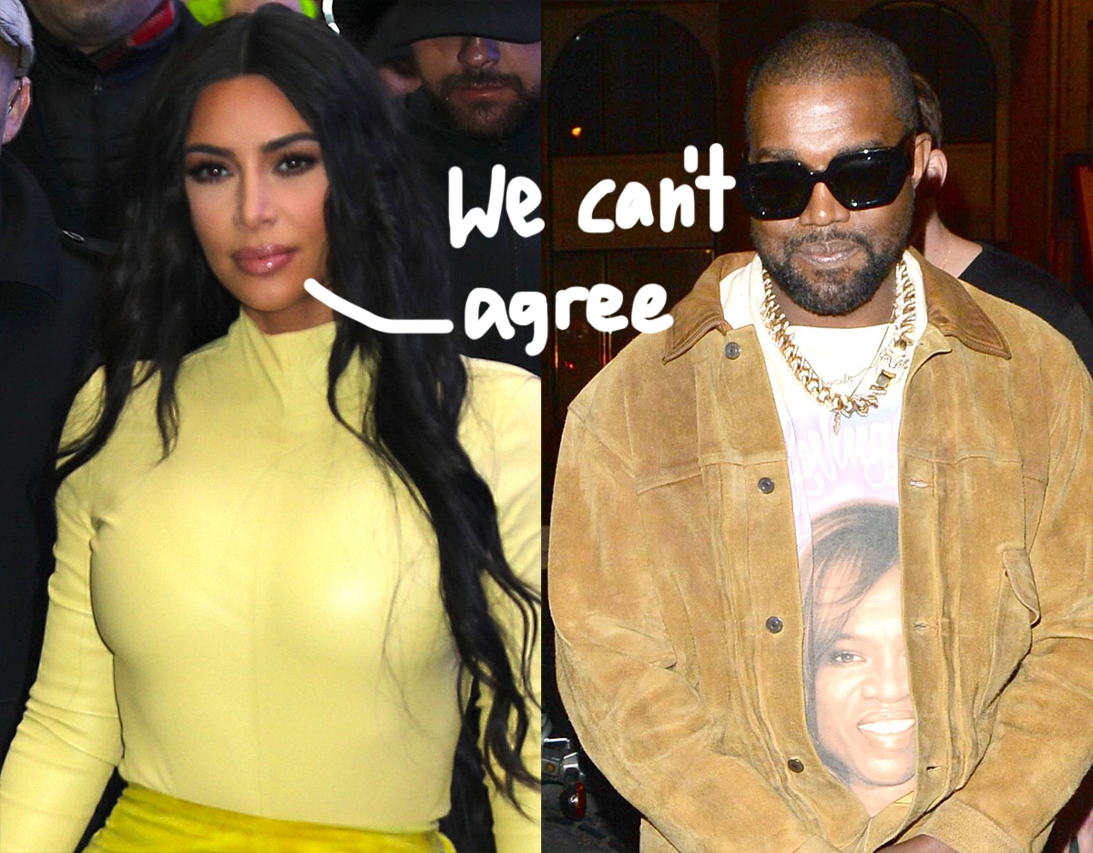 Kimye Divorce Update: Kim Kardashian & Kanye West 'Have A Different Vision Of The World' & How Their Kids Should Be Raised!