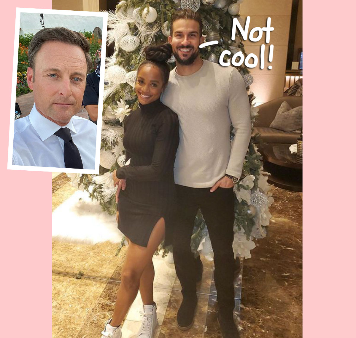Rachel Lindsay & Her Husband Both Speak Out After Chris Harrison Steps Away From The Bachelor