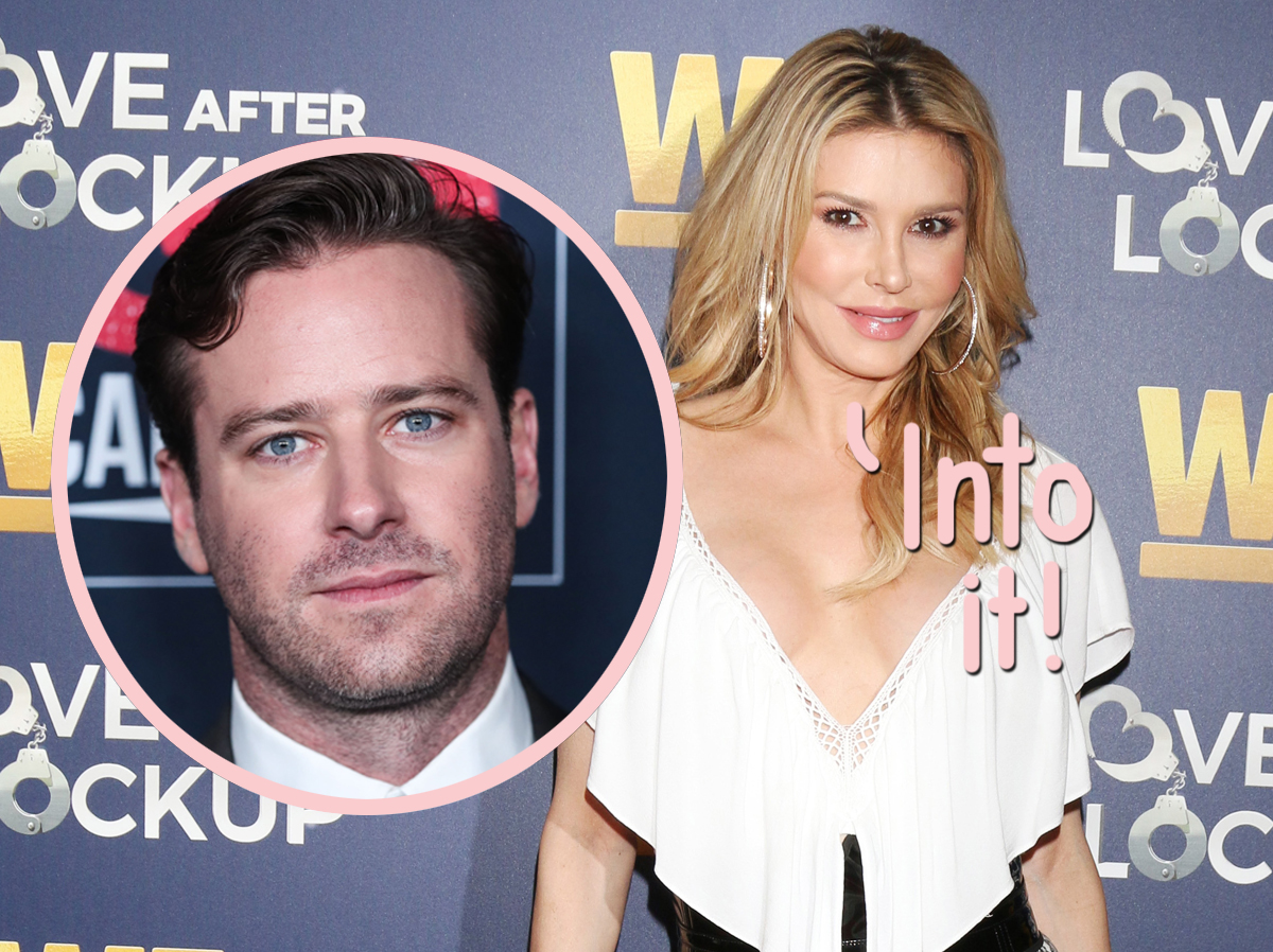 Brandi Glanville Catches Heat After Tweeting Armie Hammer Can Have Her 'Rib Cage'