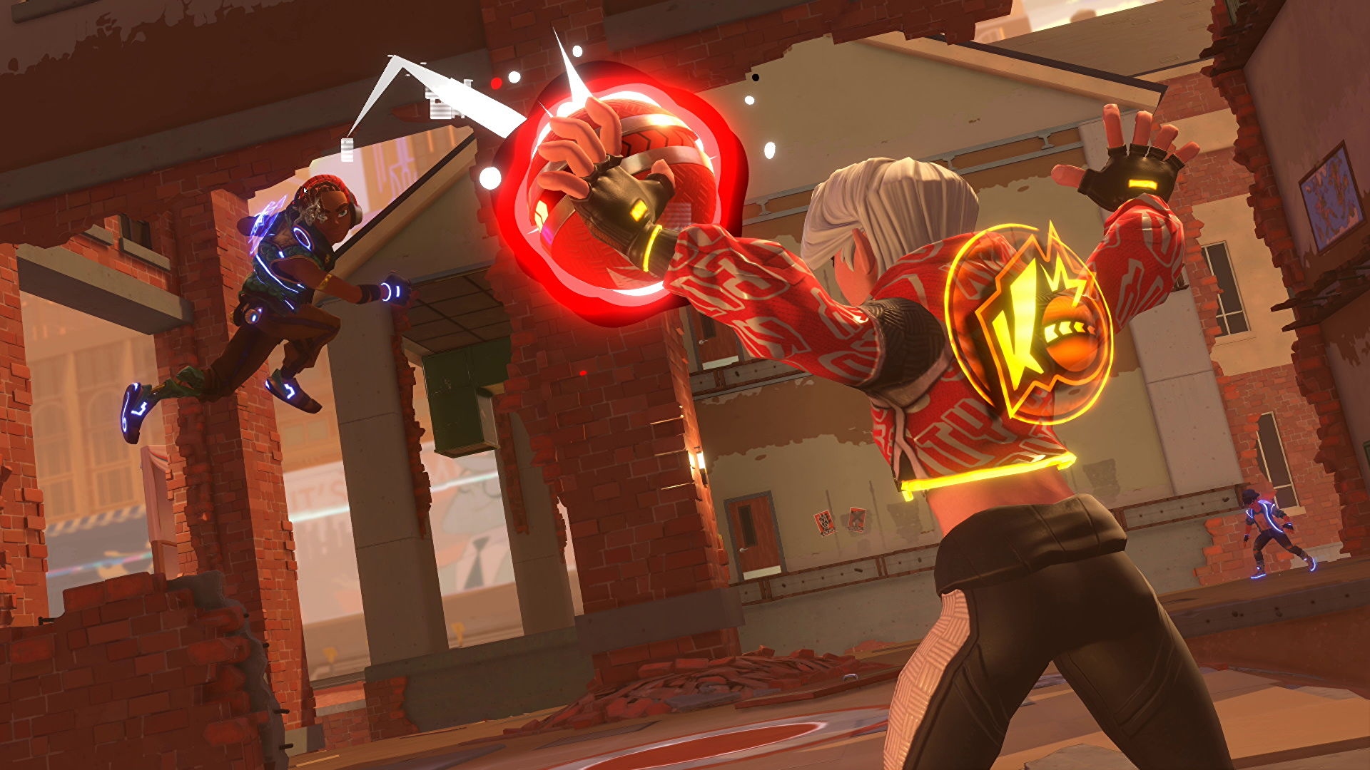 Knockout city is a dodgeball arena battler where you can really be the ball