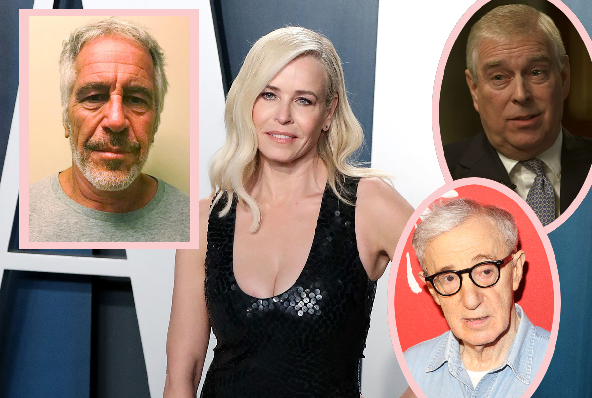 Chelsea Handler Went To A Dinner Party At Jeffrey Epstein's House! And She's Naming Names!