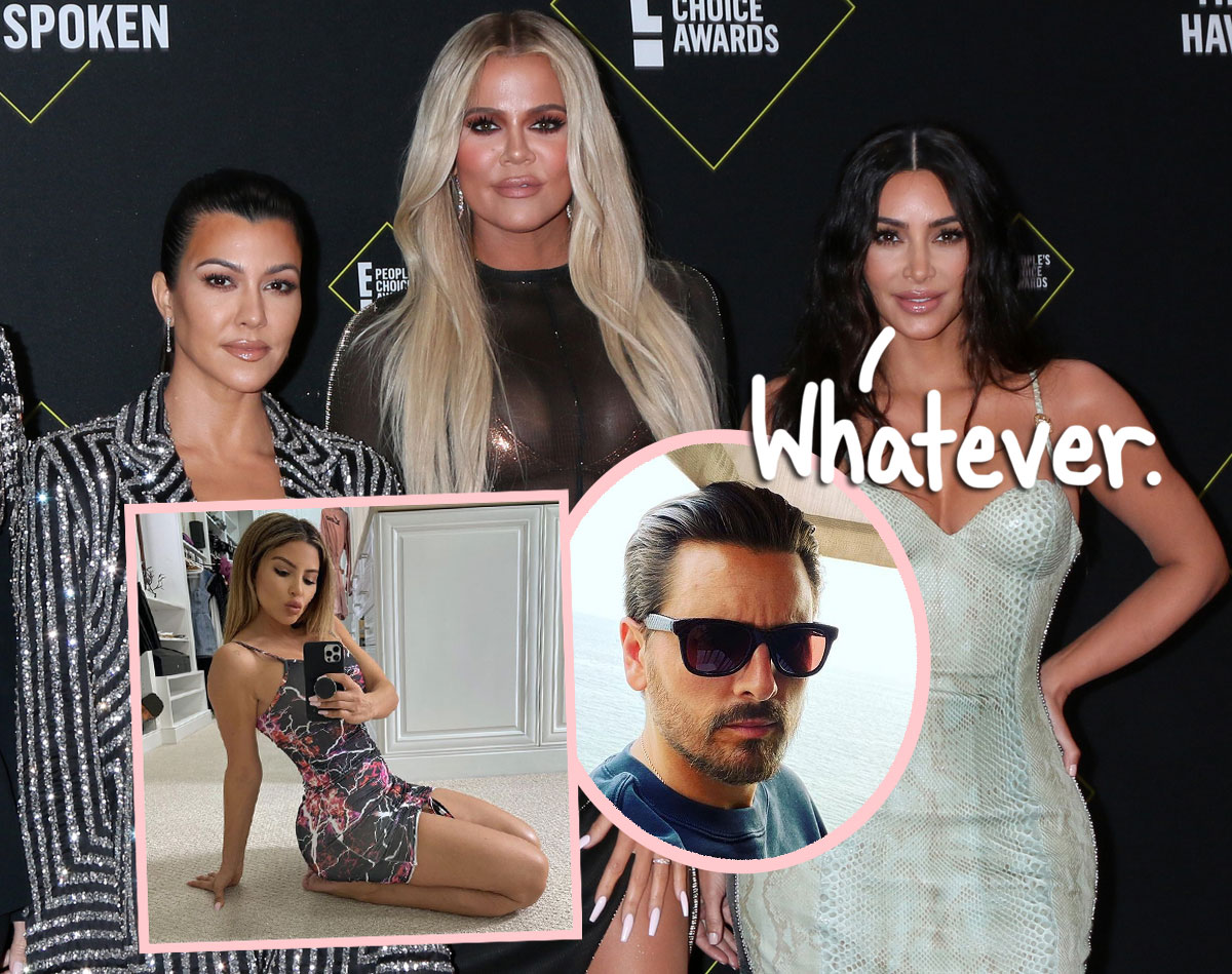 Source: KarJenner Fam Claims 'No Hard Feelings' After Larsa Pippen's Public Lunch With Scott Disick -- Really??