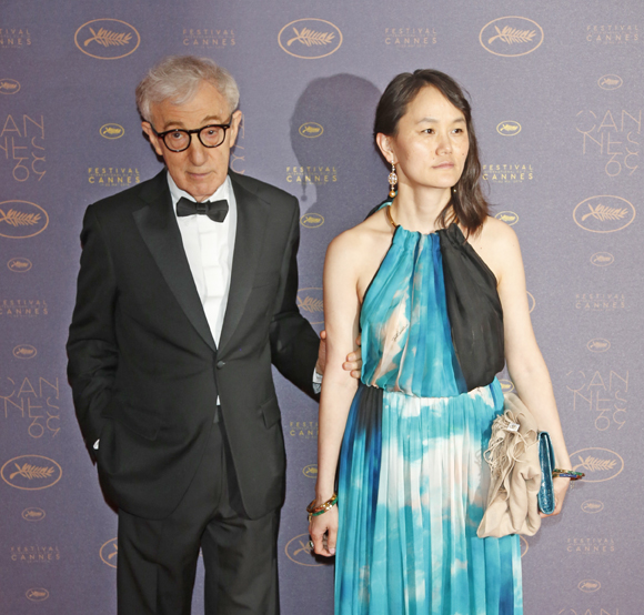 Woody Allen and Soon-Yi Previn in 2016
