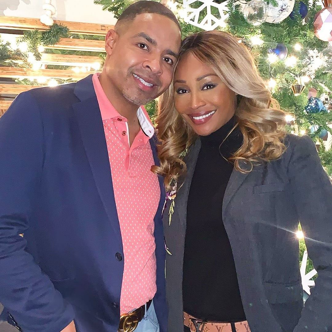 Cynthia Bailey Celebrates One Year Of Marriage – See Her And Mike Hill Happy Together