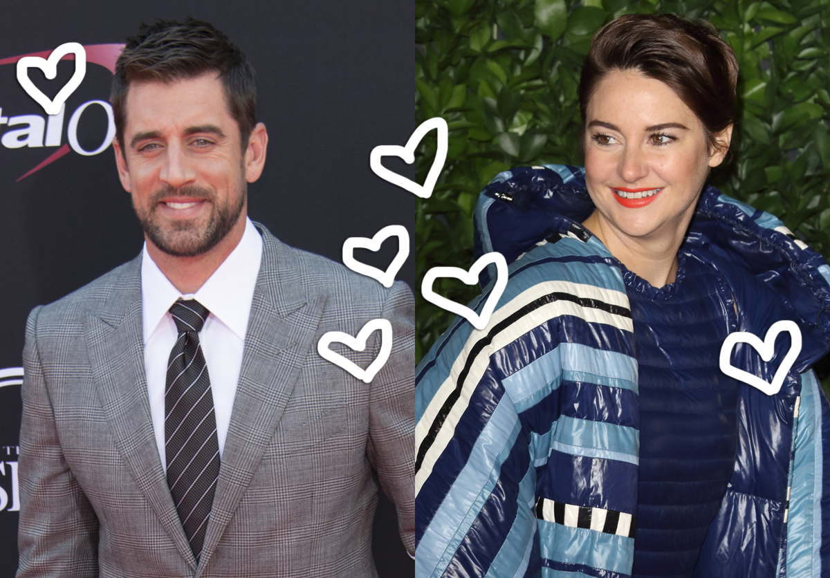 Shailene Woodley & Aaron Rodgers Are Dating -- All The Details!
