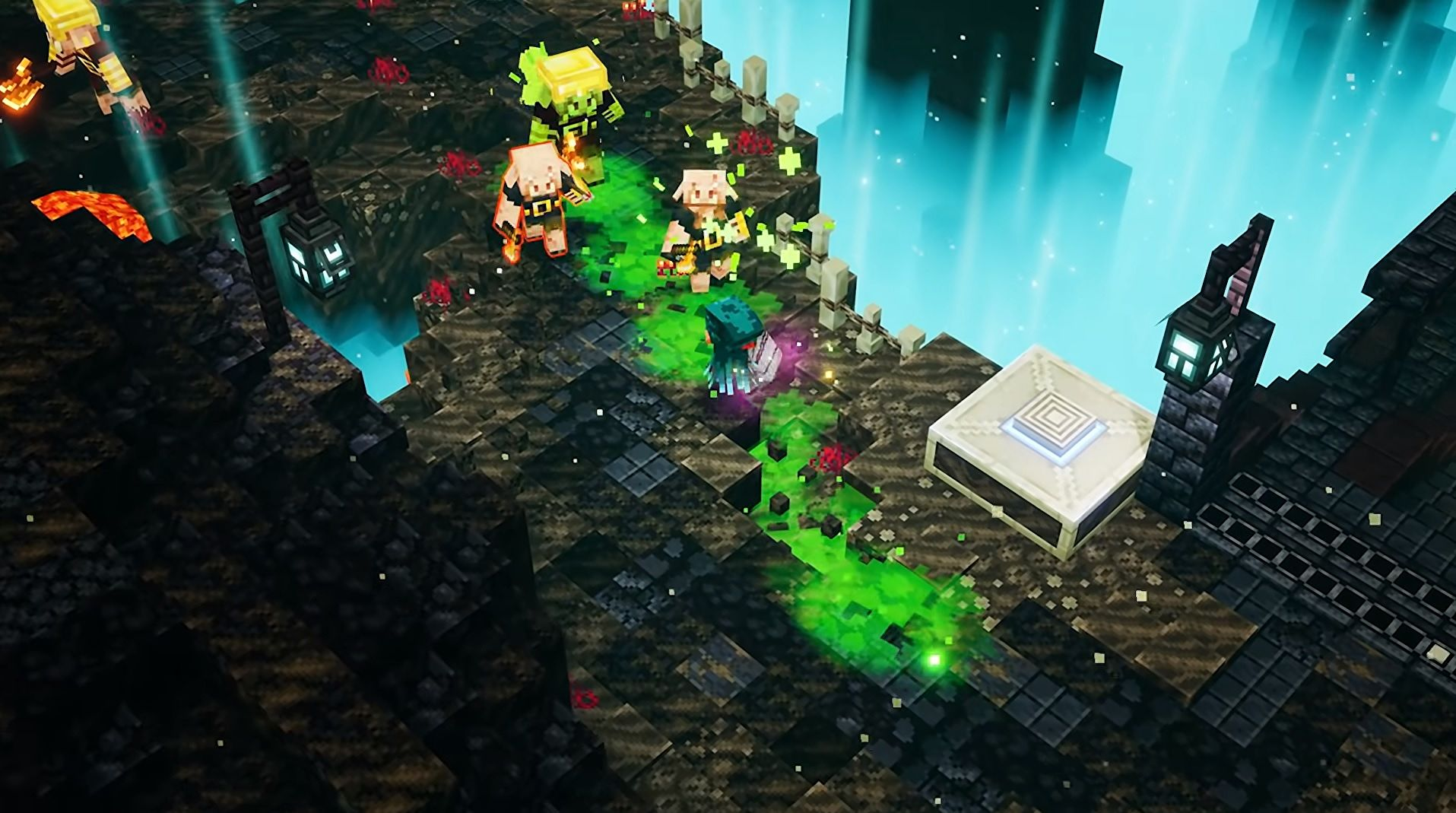 Minecraft Dungeons has portaled to the Nether in its new DLC
