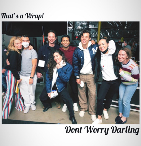 don't worry darling : asif ali wrap photo