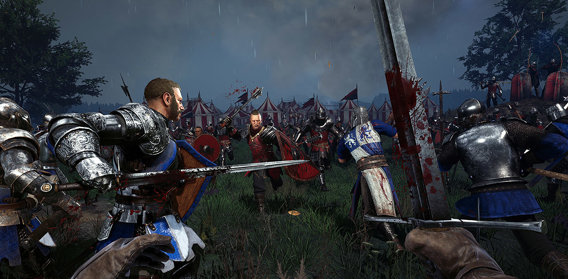 Chivalry 2 is out this June, with a closed beta in March