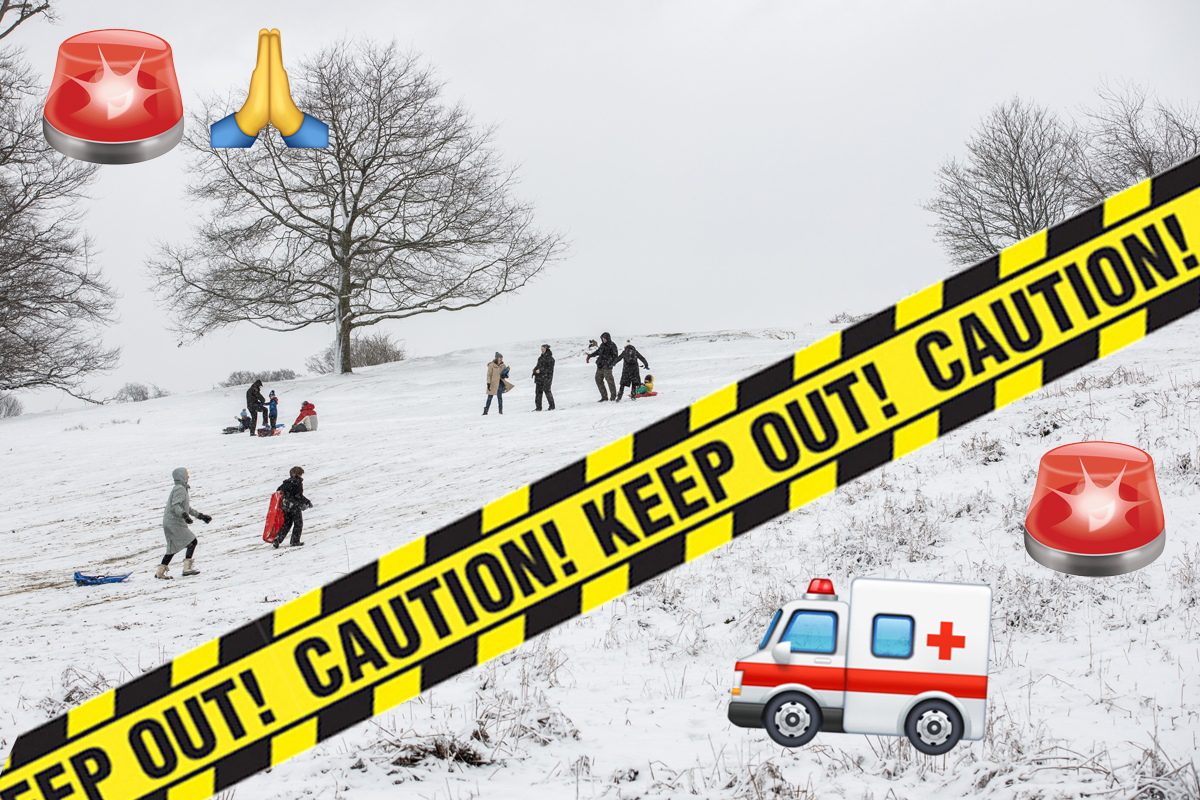 16-Year-Old Girl Killed & Toddler Injured After Terrible Sledding Accident In Upstate NY