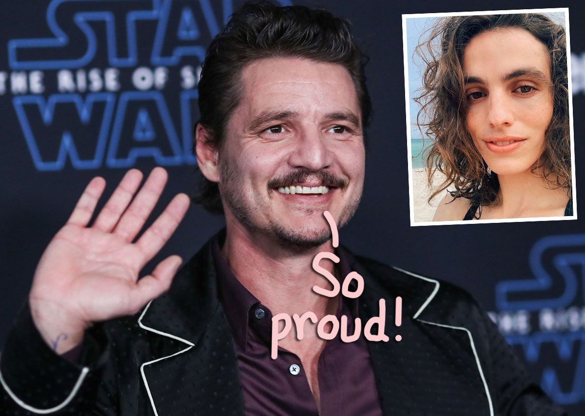 Wonder Woman 1984 Star Pedro Pascal Lovingly Supports Sister Lux After She Comes Out As Transgender