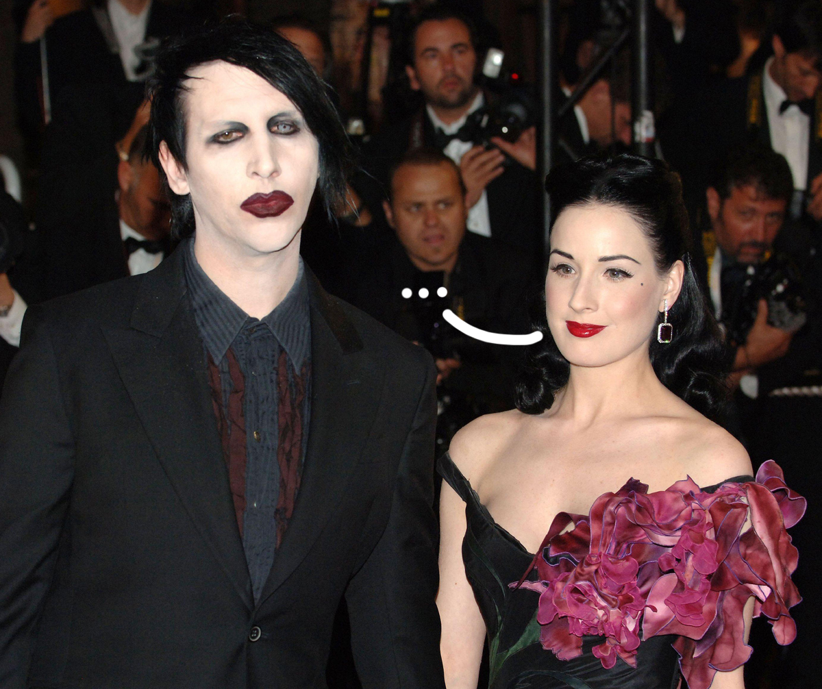 Did Dita Von Teese Hint At Marilyn Manson Abuse During Their Marriage YEARS Ago?!