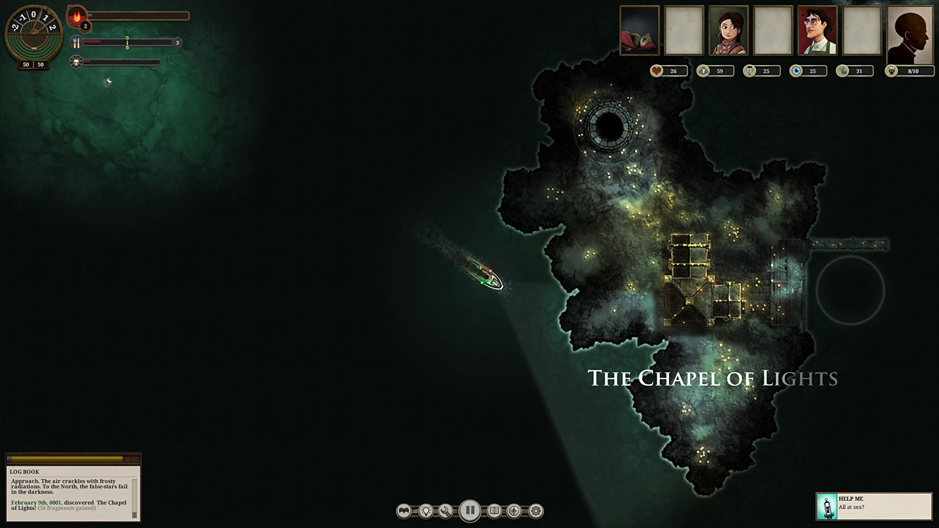 Sunless Sea is free to keep on Epic this week
