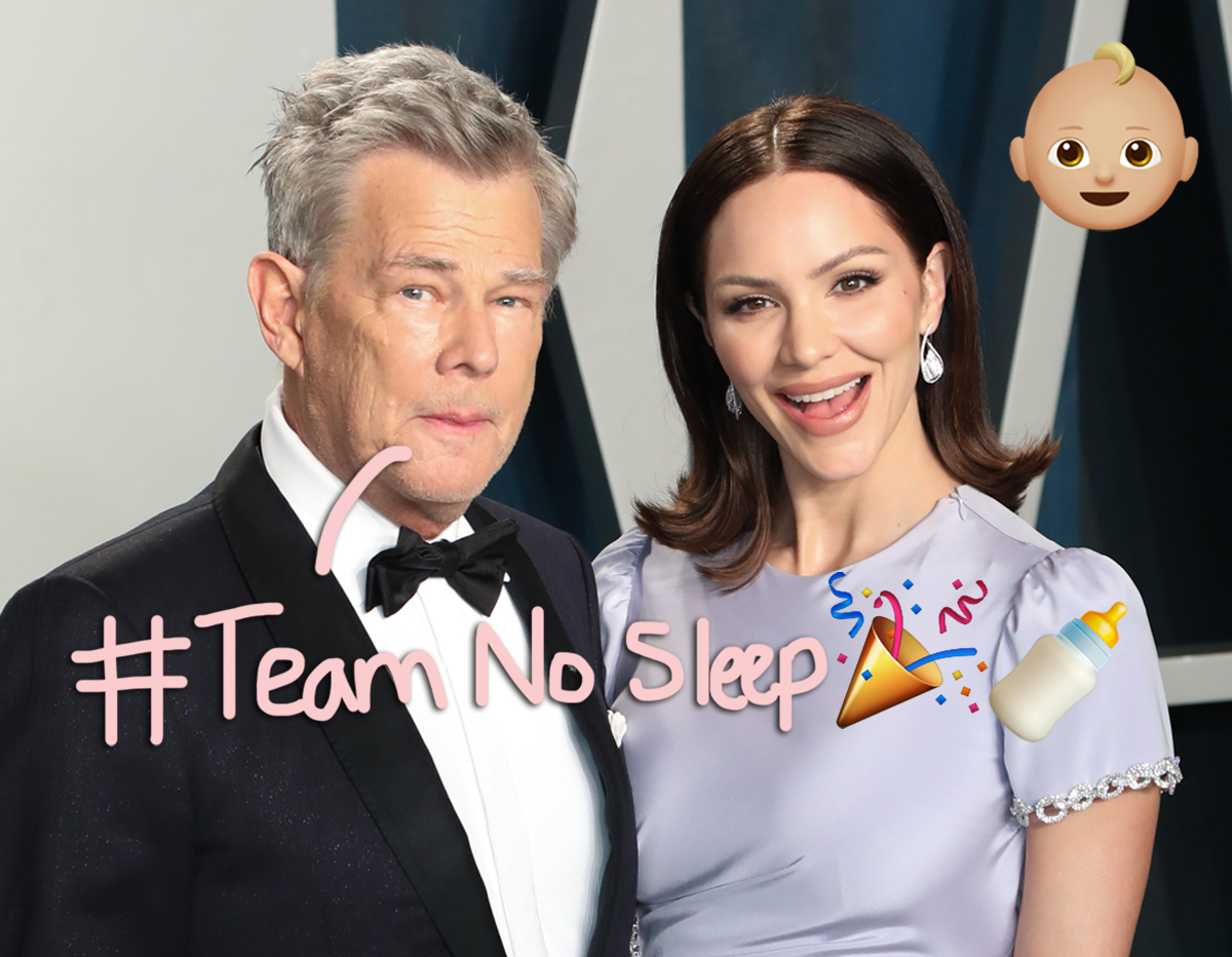 Katharine McPhee & David Foster Welcome First Baby Together!