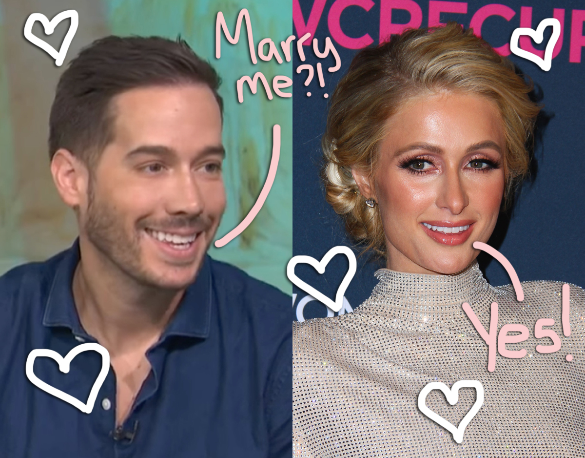 Paris Hilton Is Engaged To Carter Reum! Catch A Glimpse Of The MASSIVE Ring HERE!
