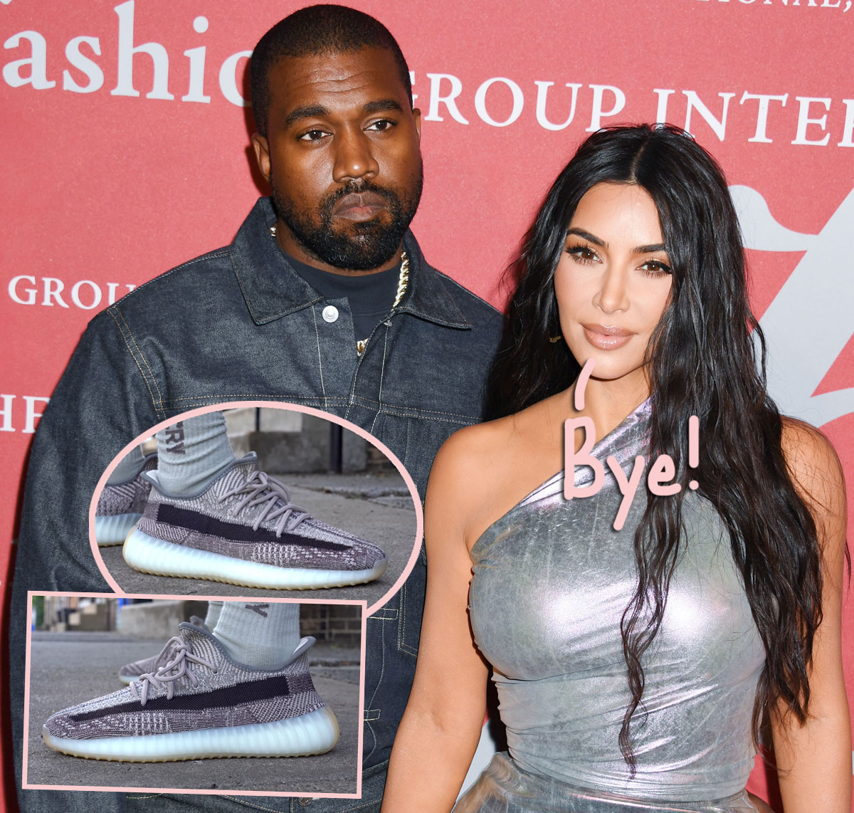 Kanye West Moves His HUGE Sneaker Collection Out Of Kim Kardashian's House As They're 'Completely Done And No Longer Speaking'