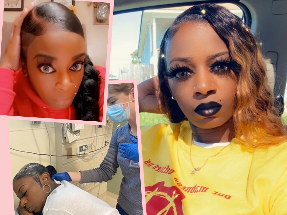 This Woman Used Gorilla Glue Spray On Her Hair & Ended Up In The Hospital!