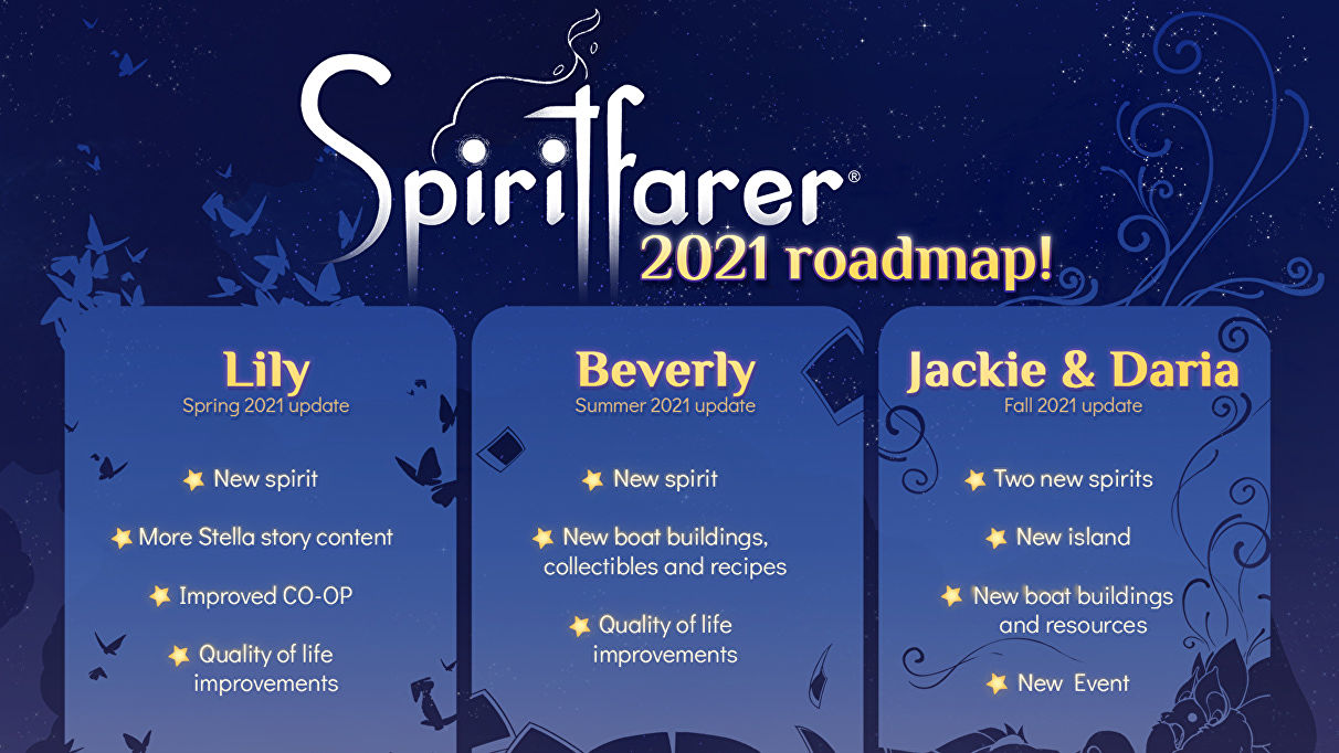 Spiritfarer is getting new spirit friends in 2021