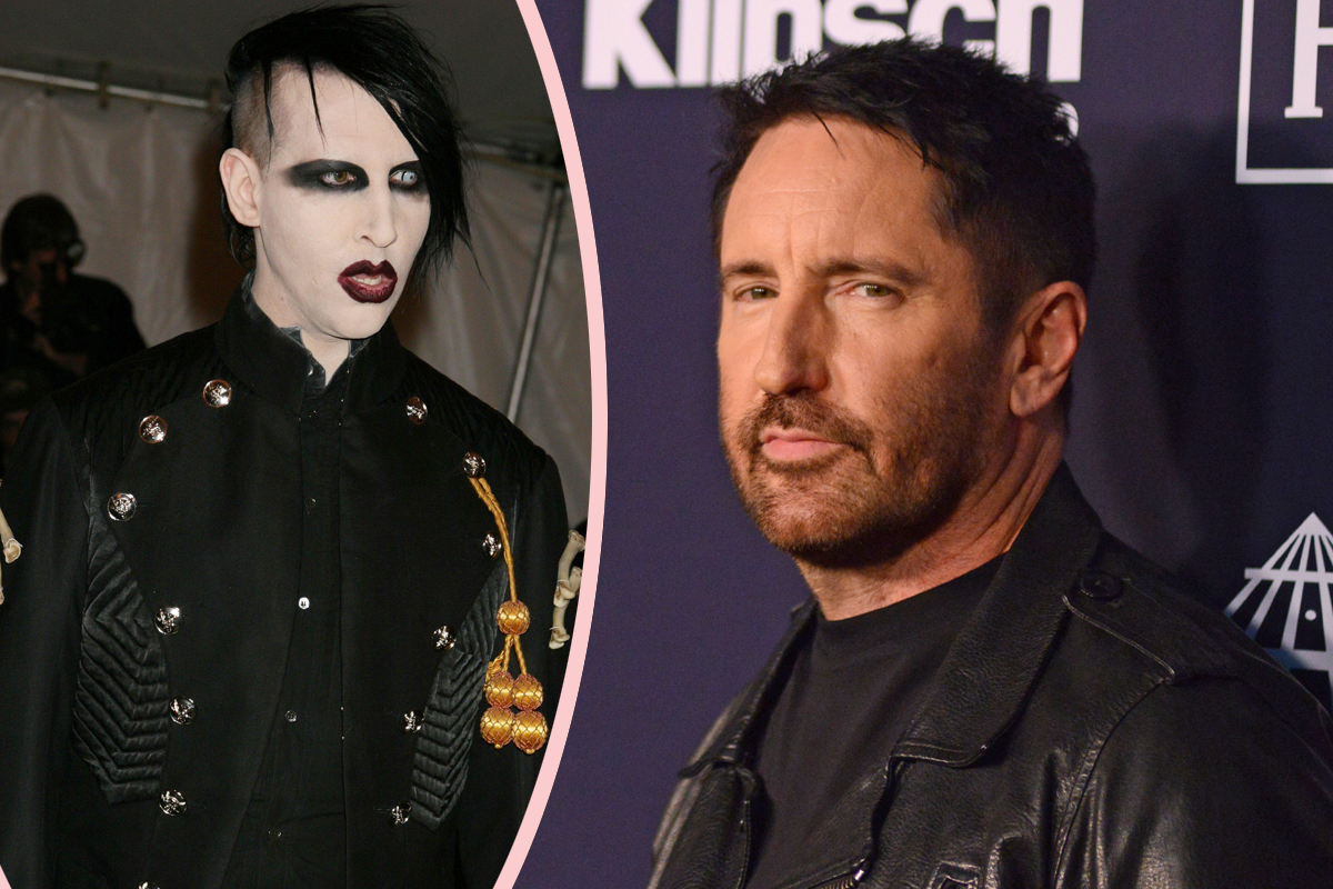 Trent Reznor SLAMS Marilyn Manson As Shock Rocker's Story About Sexually Assaulting A Woman Together Resurfaces