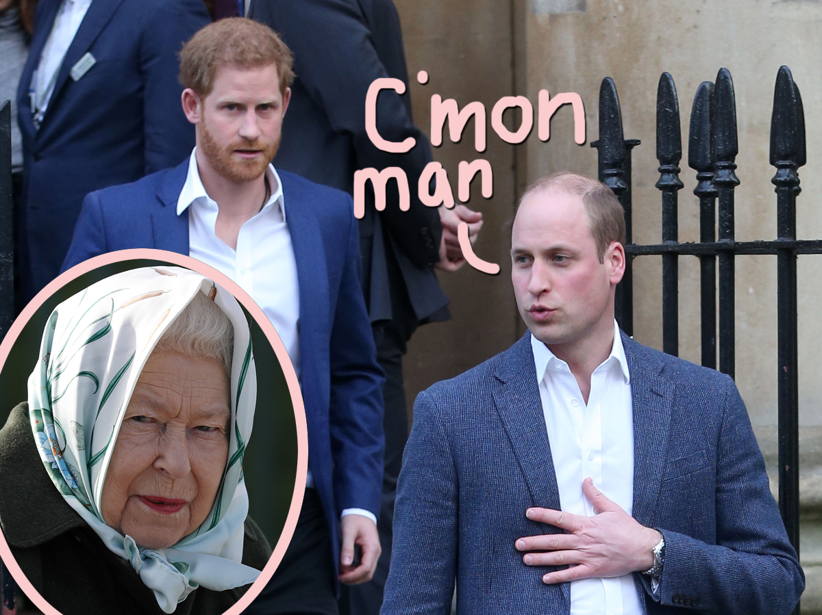 Prince William Found Harry & Meghan's Response To Queen Elizabeth's Statement 'Insulting And Disrespectful'
