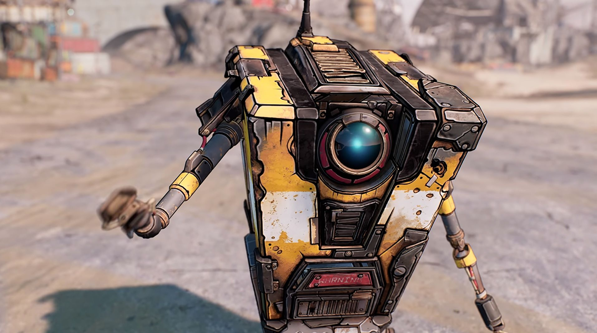 Jack Black cast as Claptrap in the Borderlands movie