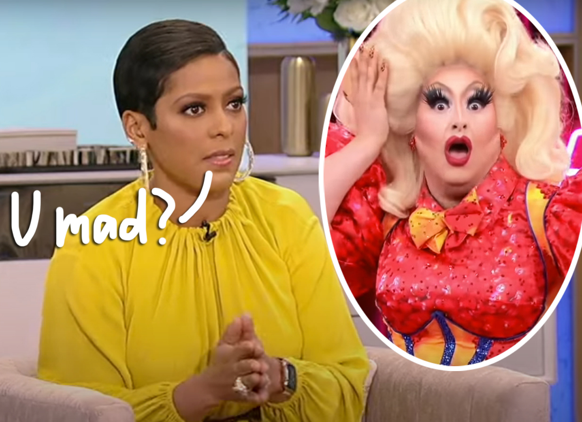 Drag Race Stars Call Out Tamron Hall For Interviewing Admitted Predator Sherry Pie — Wait Until You See This Defense!