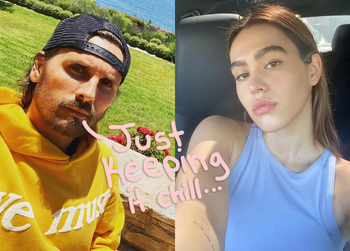 Scott Disick & Amelia Hamlin Are Still Keeping Things Casual Despite Going IG Official