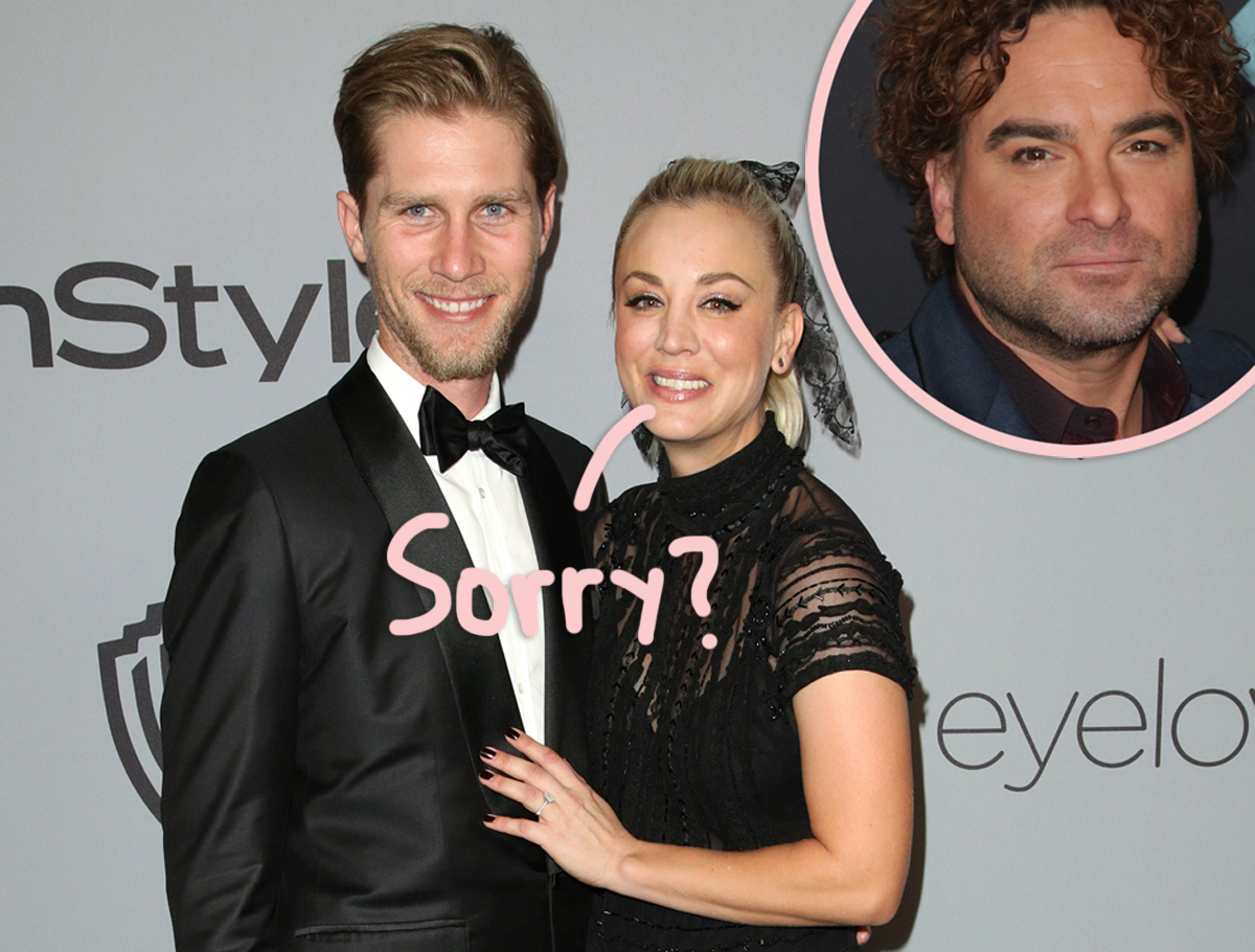 ICYMI: Kaley Cuoco's Ex Johnny Galecki Responds To Her Calling Life Before Husband 'Boring'