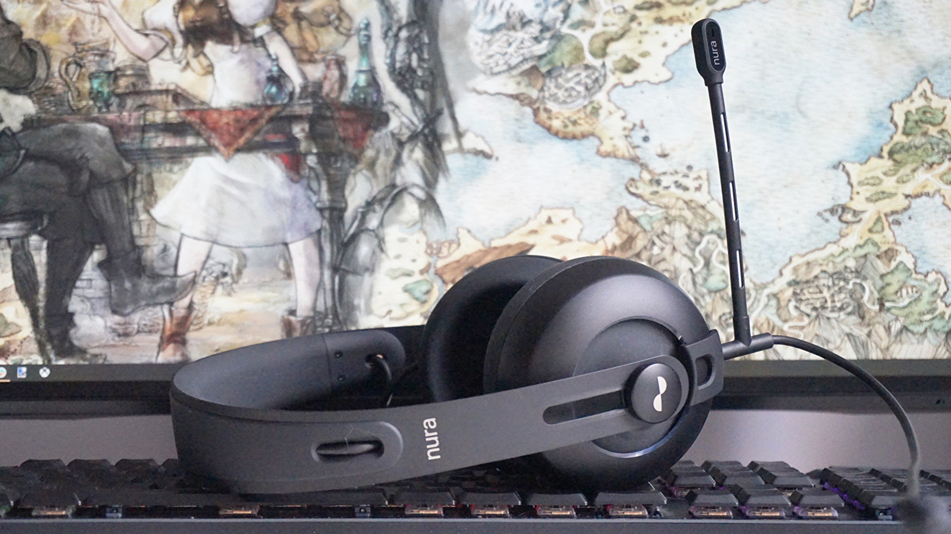 The nifty Nuraphone headphones now have a great gaming mic
