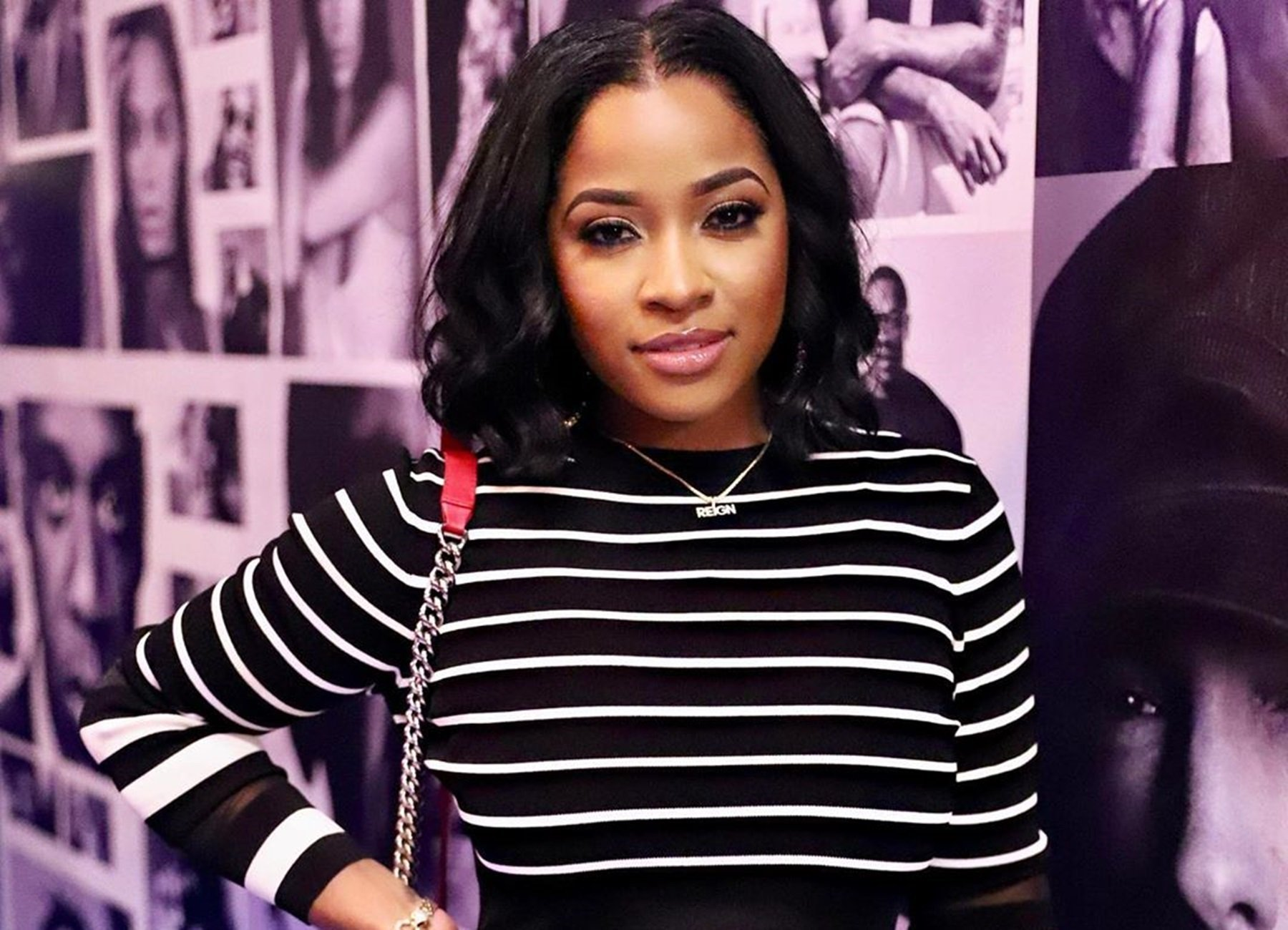 Toya Johnson Impresses Fans With Her Beauty – Check Out The New Hair She's Rocking