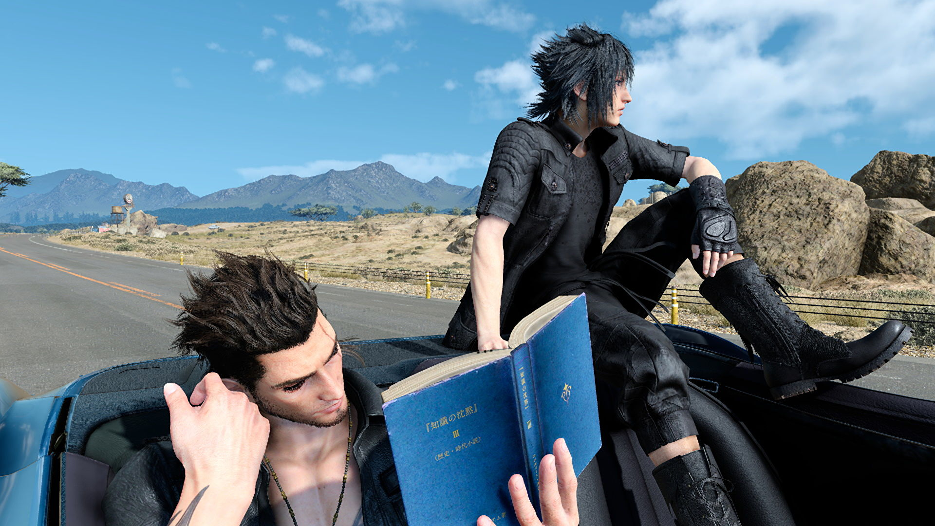 A trip in Final Fantasy XV reminded me of Albania
