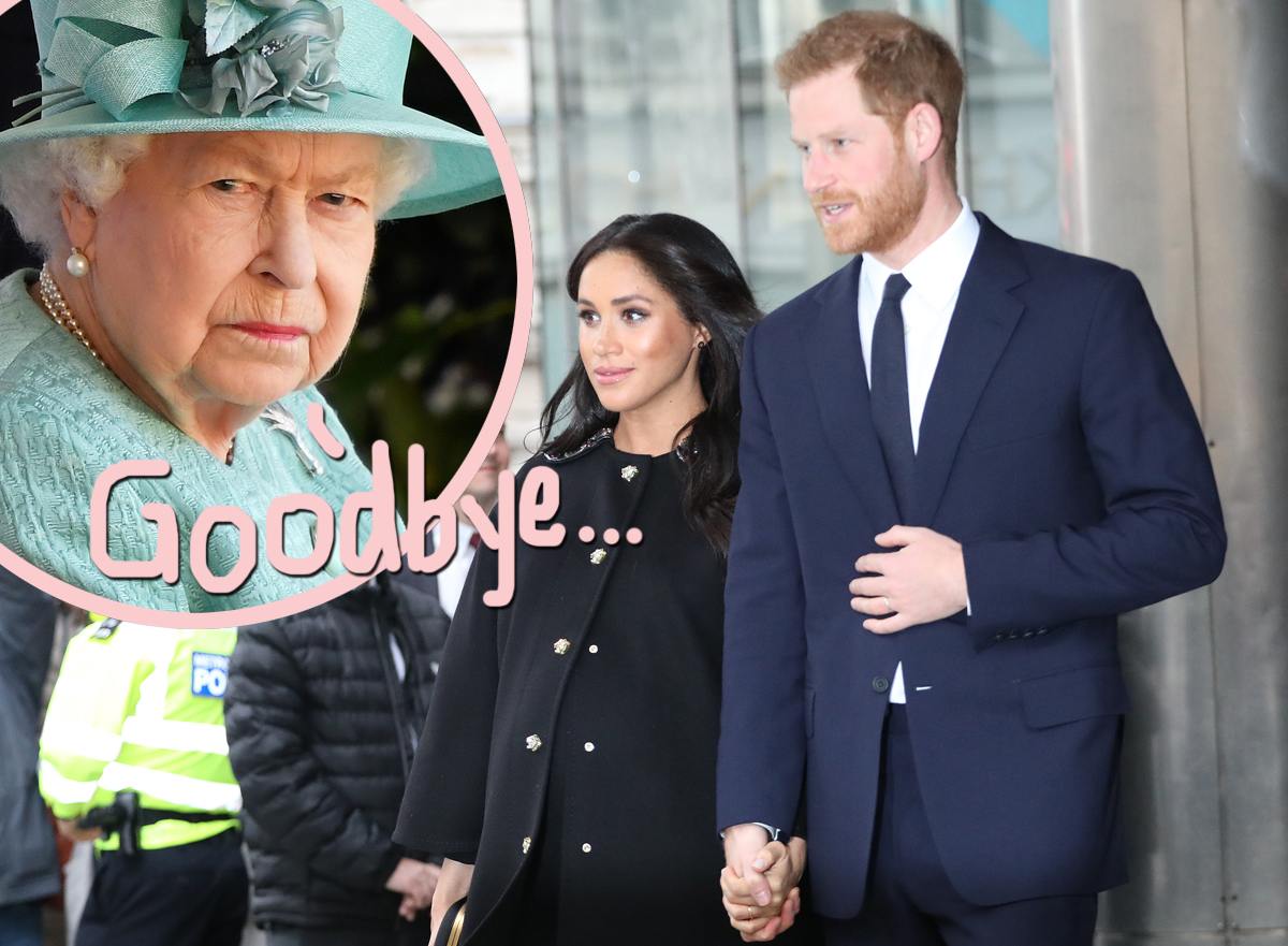 Megxit Is Finally Official: Queen Elizabeth 'Saddened' By Prince Harry & Meghan Markle's Departure In Royal Statement