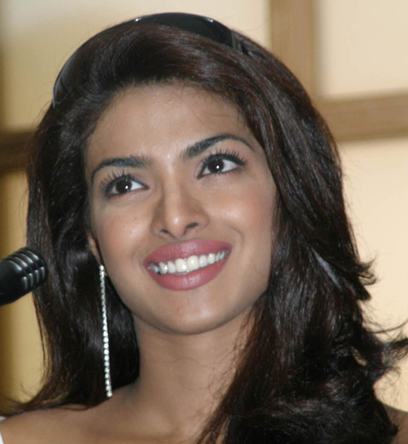 Priyanka Chopra Nose Young 2004