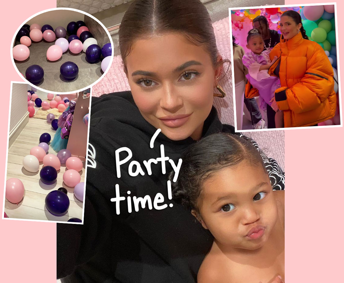 Kylie Jenner SLAMMED For Throwing Stormi Webster ANOTHER Birthday Party During Pandemic!
