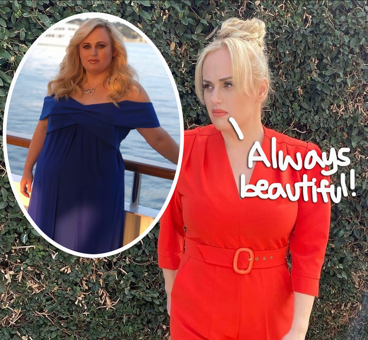 Rebel Wilson Loves 'Being Curvy' & Insists 'I Still Look Like Me' Following Weight Loss