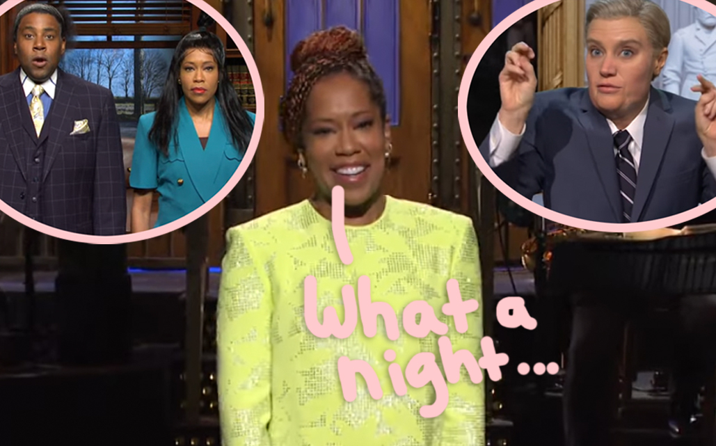 Regina King, Nathaniel Rateliff, Gorilla Glue Girl, & More: Here Are All The HIGHlarious SNL Moments!