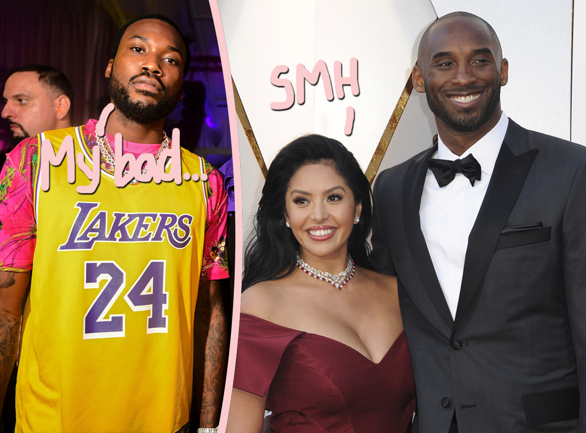 Vanessa Bryant Slams 'Disrespectful' Kobe Lyric From Meek Mill — And He Claims He Apologized