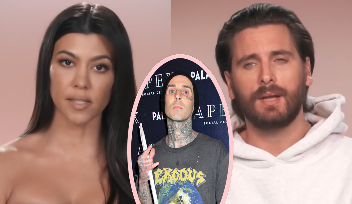 Did Kourtney Kardashian & Scott Disick Try To Make It Work Before She Started Dating Travis Barker??