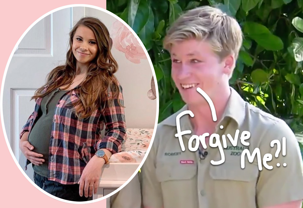 Bindi Irwin's Momma Scolds Brother Robert On TV For Committing THIS Pregnancy Faux Pas!