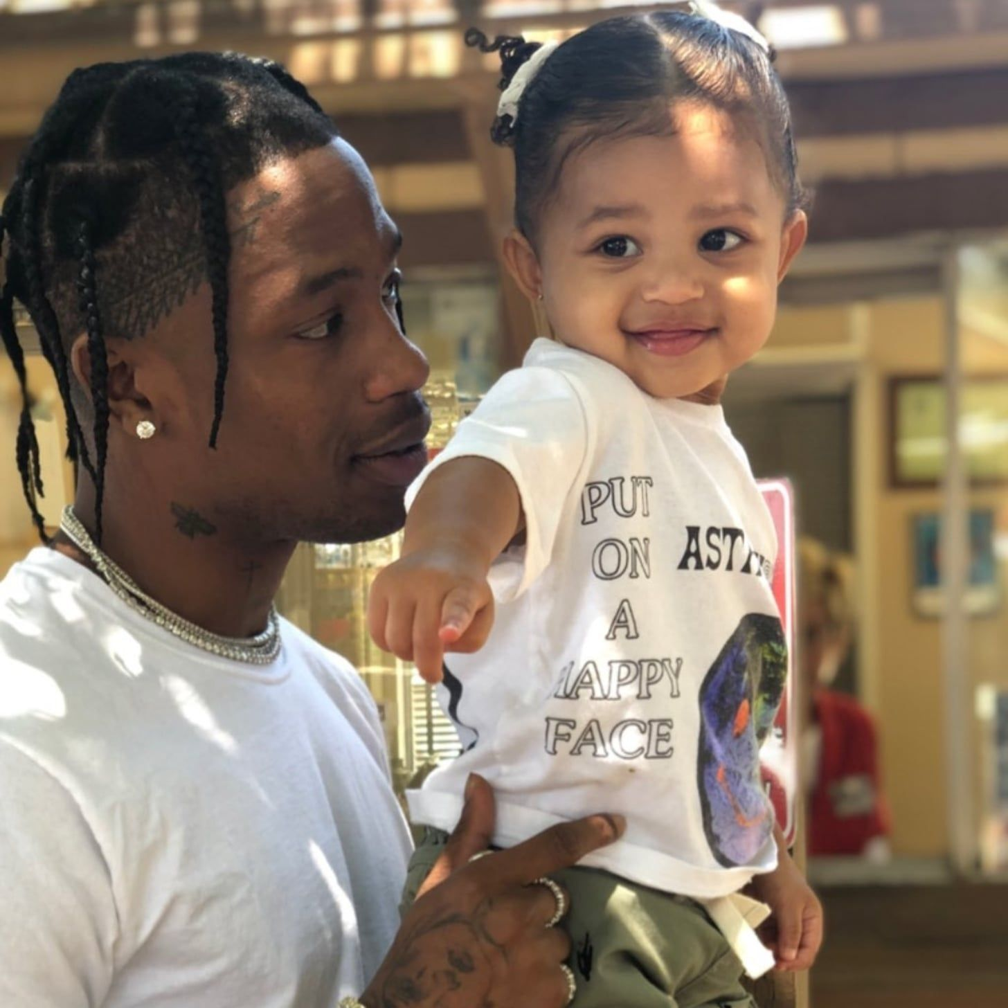 Travis Scott Reveals His Daughter With Kylie Jenner, Stormi Changed His Life – Here's How!