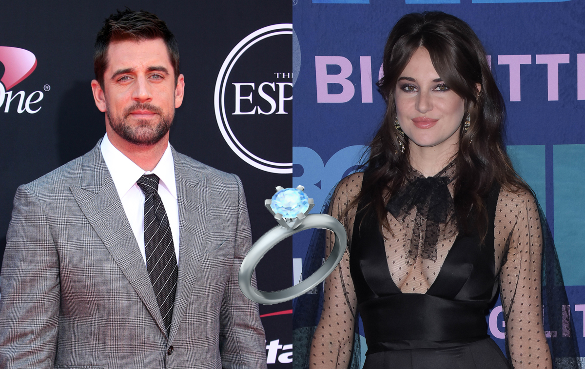 Aaron Rodgers Announces He's Engaged Following Shailene Woodley Dating Rumors!