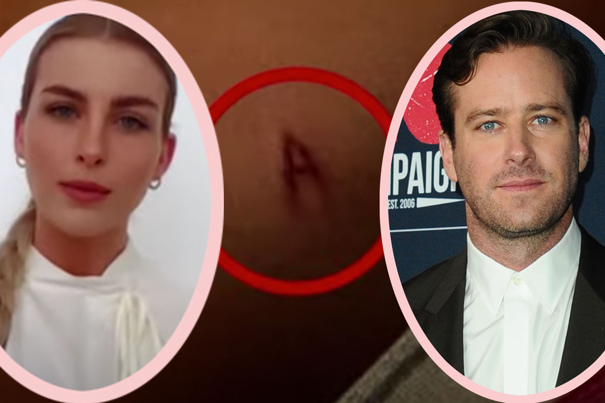 Armie Hammer's Mother Told His Ex He 'Has Demonic Behaviors' — And Paige Lorenz Reveals How He Marked Her!