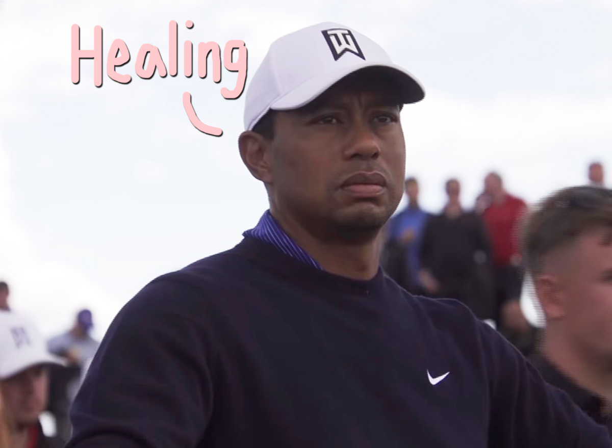Tiger Woods 'Awake, Responsive, And Recovering' After Surgery Due To Car Crash