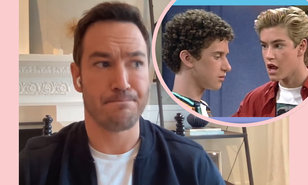 Saved By The Bell Star Mark-Paul Gosselaar Explains Why He Lost Touch With Dustin Diamond