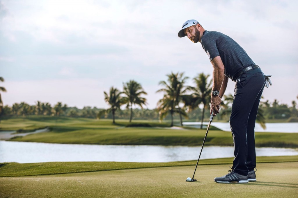 Composure: Johnson won the title by two shots