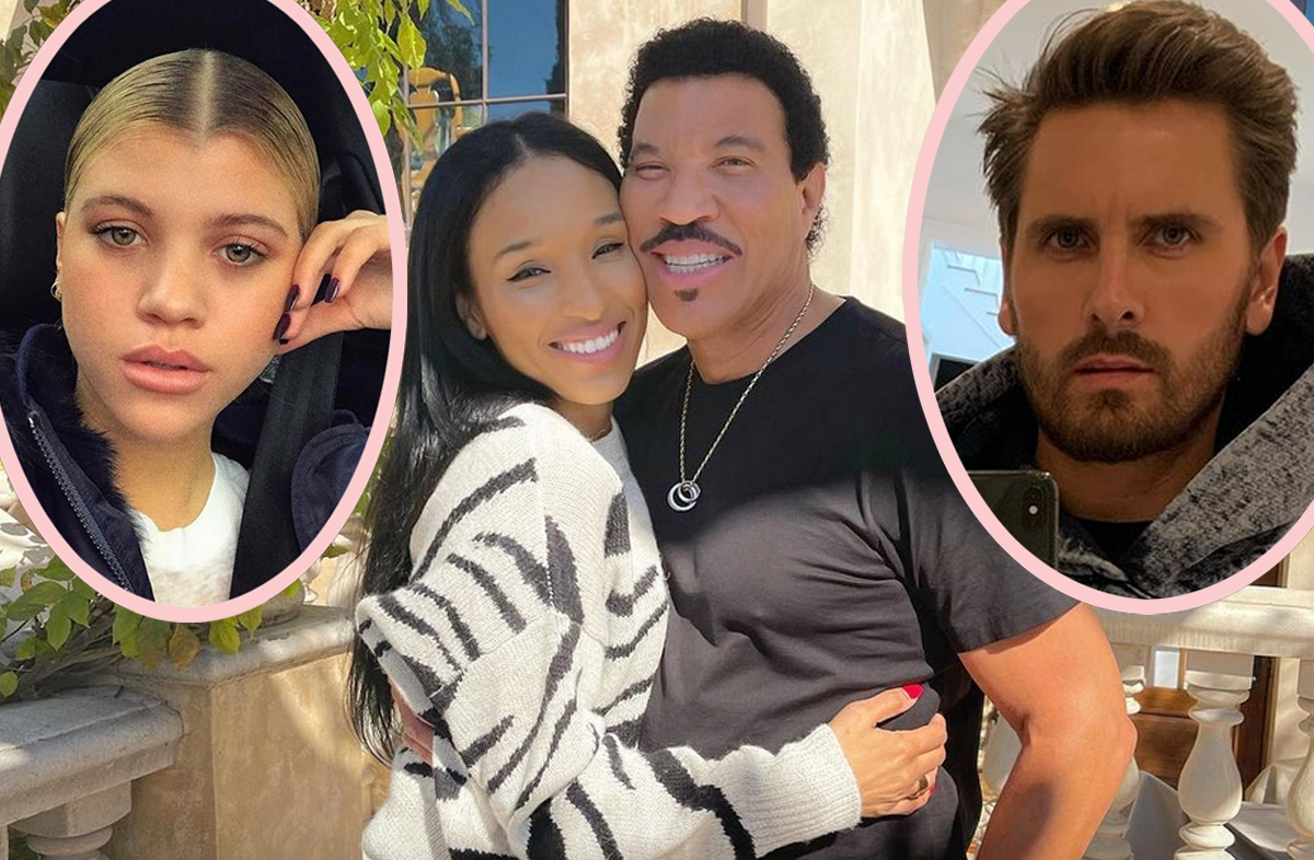 Fans SHOCKED At Lionel Richie & Girlfriend's Age Gap — Especially After How He Treated Scott Disick!