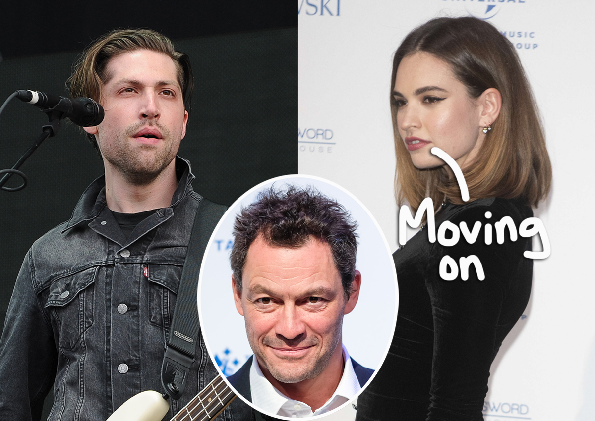 Lily James Moves On From Cheating Controversy With A Rockstar!