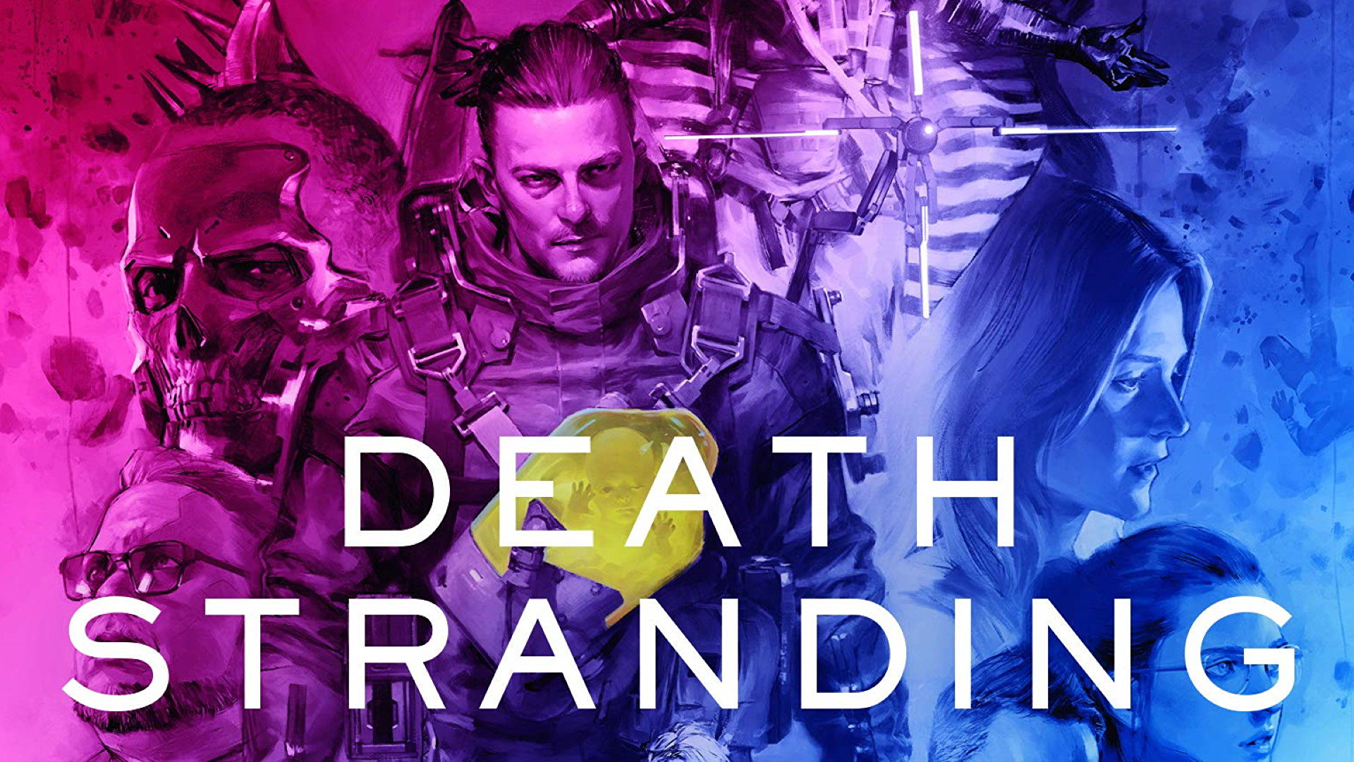 We've read the official Death Stranding novels, and they're as weird as the game