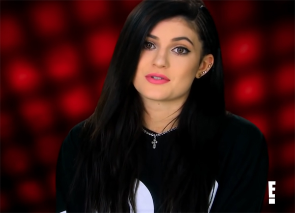 Kylie Jenner goth phase